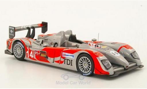 Audi R10 2010 1/43 IXO TDI No.14 24h Le Mans C.Bouchut miniature