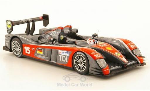 Audi R10 2009 1/43 IXO TDI No.15 24h Le Mans C.Albers/C.Bakkerud/G.Mondini miniature