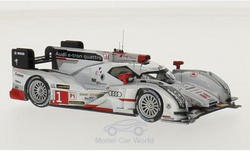 Audi R18 1/43 IXO E-Tron quattro No.1 24h Le Mans 2013 A.Lotterer miniature