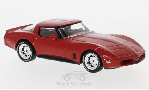 Chevrolet Corvette 1/43 IXO C3 rouge 1980 miniature