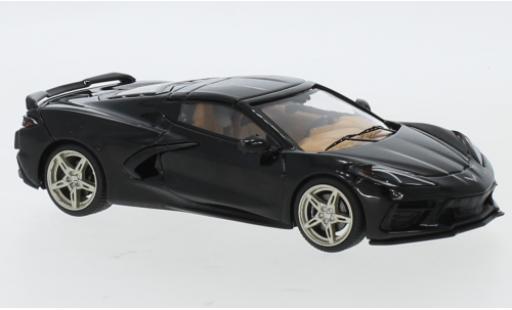 Chevrolet Corvette 1/43 IXO C8 noire 2020 miniature