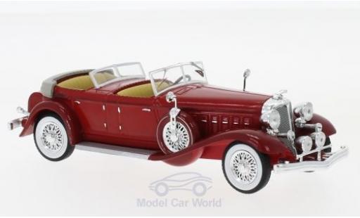 Chrysler Imperial 1/43 IXO Le Baron Phaeton rouge 1933 miniature