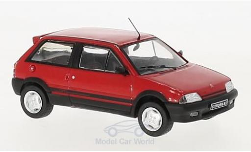 Citroen AX 1/43 IXO Gti red 1991 diecast model cars