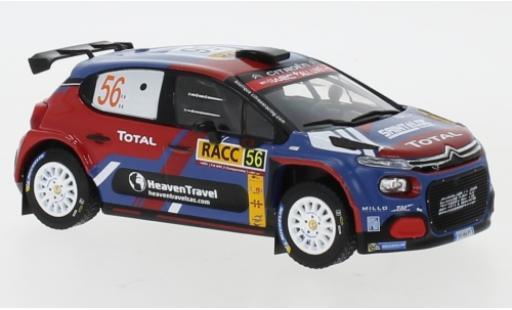 Citroen C3 1/43 IXO R5 No.56 Rallye WM Rally Catalunya 2019 E.Camilli/B.Eillas miniature