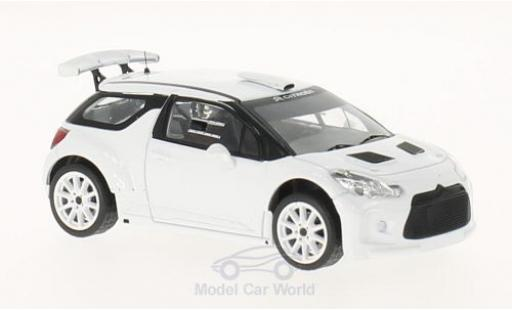 DS Automobiles DS3 1/43 IXO Citroen R5 2015 Plain Body Version inklusive 4 Ersatzräder miniature