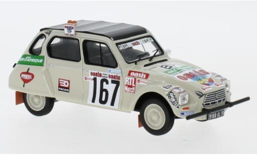Citroen Dyane 1/43 IXO No.167 Rally Paris Dakar 1979 C.Sandron/P.Alberto diecast model cars