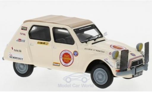 Citroen Dyane 1/43 IXO Raid Paris - Kabul 1970 miniature
