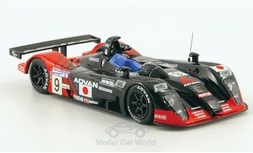 Dome S101 2003 1/43 IXO No.9 Kondo Racing 24h Le Mans /Fukuda miniature