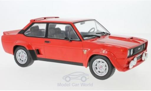 Fiat 131 Abarth 1/18 IXO rouge 1980 miniature