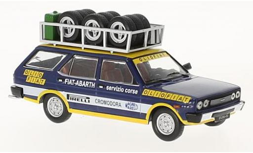 Fiat 131 1/43 IXO Panorama Olio Flat 1975 Rallye Assistance miniature