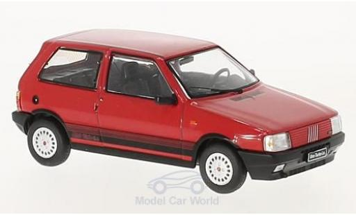 Fiat Uno 1/43 IXO Turbo IE rouge 1984 miniature