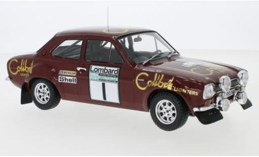 Ford Escort 1/18 IXO MK1 RS 1600 No.1 Colibri Lighters Rallye WM RAC Rallye 1974 T.Makinen/H.Liddon diecast model cars