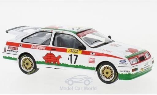 Ford Sierra 1/43 IXO RS Cosworth No.17 WTCC 24h Spa 1987 A.Semoulin/J.Pareja/T.Tassin miniature