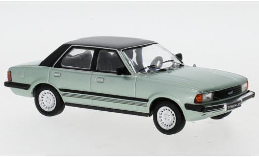 Ford Taunus 1/43 IXO (TC3) Ghia metallise verte/noire 1983 miniature