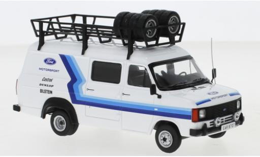Ford Transit 1/43 IXO MK II Team Motorsport 1979 Assistance with roof rack diecast model cars