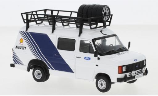 Ford Transit 1/43 IXO MkII Motorsport 1986 Assistance miniature