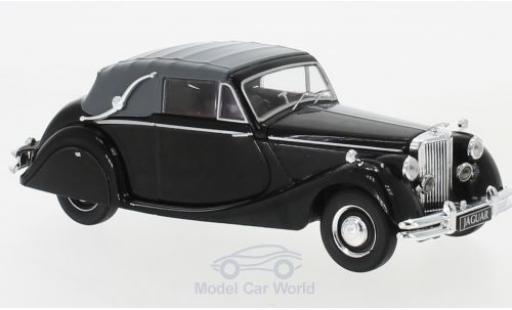 Jaguar MK 1/43 IXO V 3.5 Litre DHC Cabrio black RHD 1950 diecast