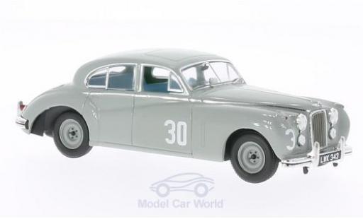Jaguar MK 2 1/43 IXO VII No.30 BTCC Silverstone 1952 S.Moss miniature