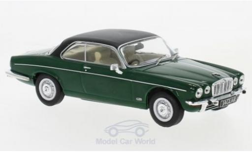 Jaguar XJ 1/43 IXO 12C green/matt-black RHD 1976 diecast model cars