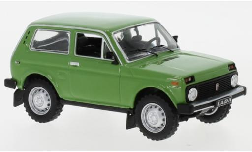 Lada Niva 1/43 IXO green 1978 diecast model cars