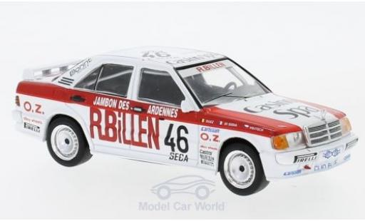 Mercedes 190 E 1/43 IXO E 2.3-16V No.46 ETCC 1986 B.di Gioia/M.Duez/Z.Vojtech miniature