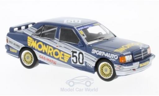 Mercedes 190 E 1/43 IXO E 2.3-16V No.50 Monroe ETCC 1986 T.van Dalen/B.De Dryver/M.de Deyne miniature