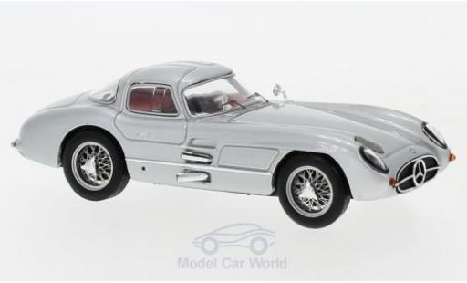 Mercedes 300 1/43 IXO SLR Coupe Uhlenhaut (W196S) grise 1955 miniature