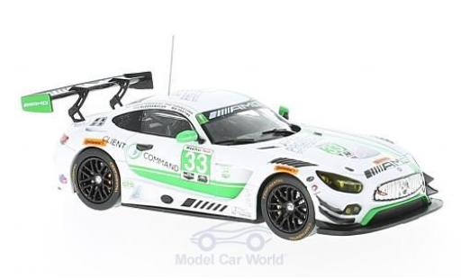 Mercedes AMG GT 1/43 IXO 3 No.33 Riley Motorsports 24h Daytona 2017 J.Bleekemolen/A.Christodoulou/M.Farnbacher/B.Keating miniature