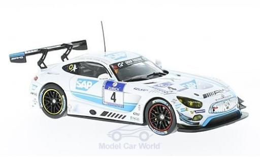Mercedes AMG GT 1/43 IXO 3 No.4 AMG-Team Black Falcon 24h Nürburgring 2016 B.Schneider/M.Engel/A.Christodolou/M.Metzger miniature