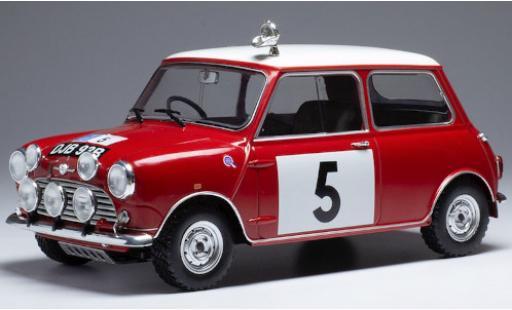 Mini Cooper 1/18 IXO S No.5 BMC RAC Rally 1965 R.Aaltonen/T.Ambrose miniature