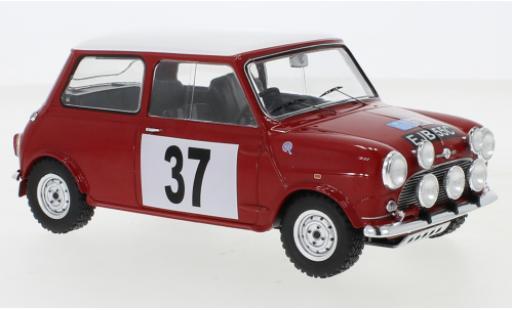 Mini Cooper 1/18 IXO S RHD No.37 BMC RAC Rally 1965 H.Källström/N.Björk miniature