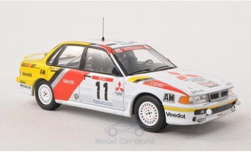 Mitsubishi Galant 1/43 IXO VR-4 No.11 RalliArt Tour de Corse 1991 R.Holzer/K.Wendel miniature