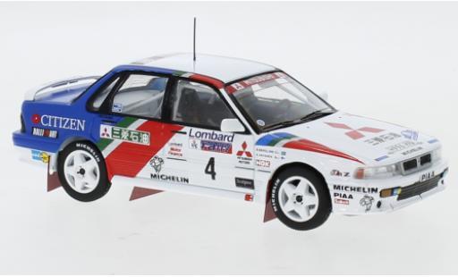 Mitsubishi Galant 1/43 IXO VR-4 No.4 Ralliart Europe RAC Rally 1990 A.Vatanen/B.Berglund miniature