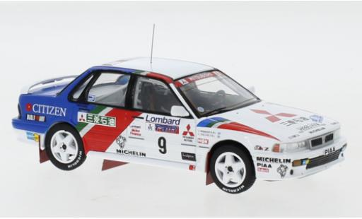Mitsubishi Galant 1/43 IXO VR-4 No.9 Ralliart Europe RAC Rally 1990 K.Eriksson/S.Parmander miniature