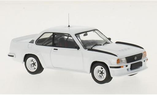 Opel Ascona 1/43 IXO B 400 white RHD 1981 Plain Body Version y compris les 4 Ersatzräder diecast model cars