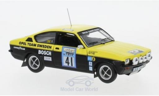 Opel Kadett GT 1/43 IXO C /E No.41 Team Sweden Rallye WM RAC Rallye 1976 B.Danielsson/U.Sundberg miniature