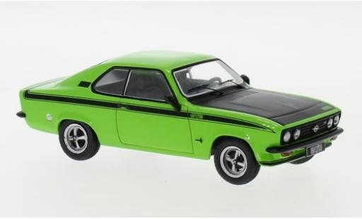 Opel Manta 1/43 IXO A GT/E verte/noire 1974 miniature