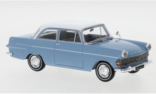 Opel Rekord 1/43 IXO P2 bleue/blanche 1961 miniature