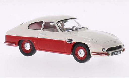 Panhard DB HBR 1/43 IXO 5 rot/beige 1957 modellautos
