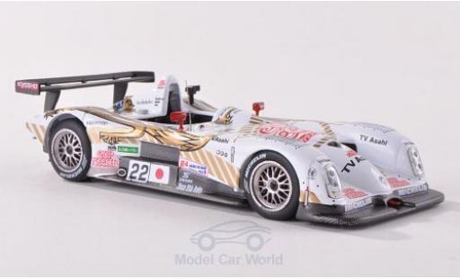 Panoz LMP-1 1/43 IXO Roadster S No.22 TV Asahi Team 24h Le Mans 2000 K.Tsuchiya/M.Kondo/A.Lida miniature