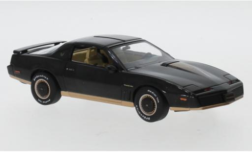 Pontiac Firebird 1/43 IXO black/Dekor 1982 diecast model cars