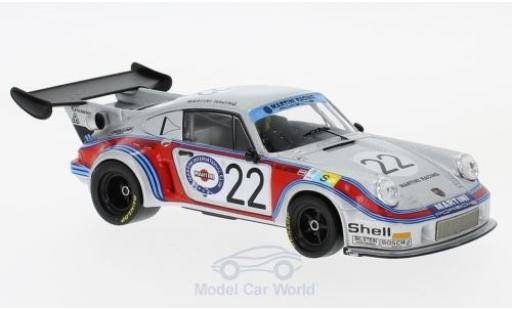 Porsche 930 Turbo 1/43 IXO 911 Carrera RSR 2.1 No.22 Martini Racing Martini 24h Le Mans 1974 H.Müller/G.van Lennep modellino in miniatura