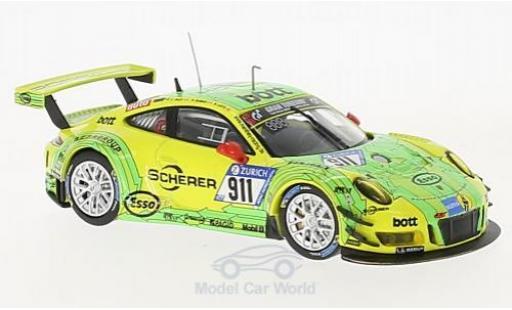 Porsche 991 GT3 R 1/43 IXO 911 No.911 24h Nürburgring 2017 R.Dumas/R.Lietz/P.Pilet miniature
