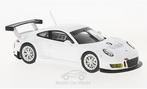 Porsche 911 SC 1/43 IXO GT3 R blanco coche miniatura