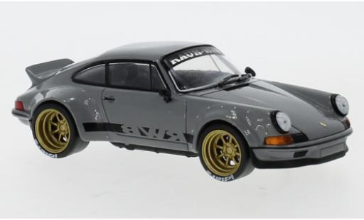 Porsche 911 1/43 IXO RWB grise miniature