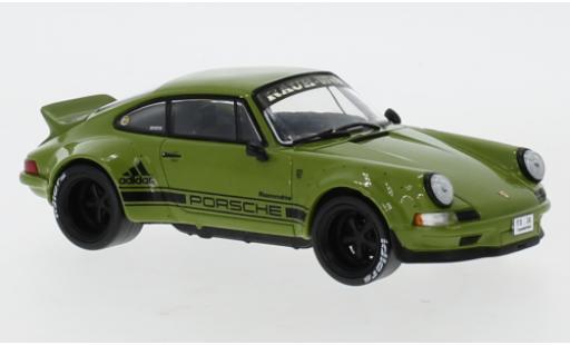 Porsche 911 1/43 IXO RWB oliv miniature
