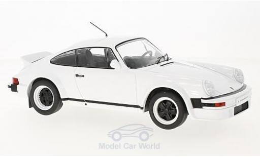 Porsche 930 SC 1/18 IXO 911 blanche 1982 Plain Version miniature