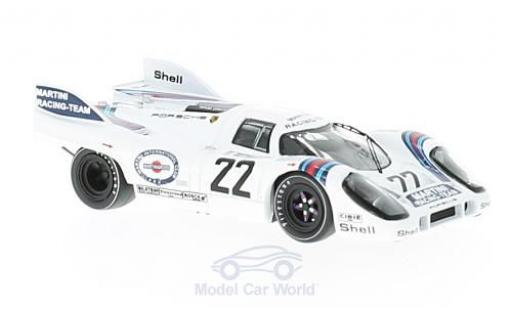 Porsche 917 1971 1/43 IXO K No.22 Martini 24h Le Mans H.Marko/G.van Lennep miniature