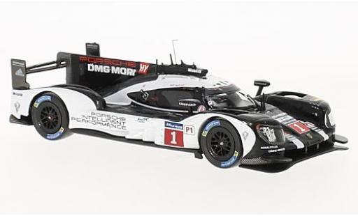 Porsche 919 1/43 IXO Hybrid No.1 24h Le Mans 2016 T.Bernhard/B.Hartley/M.Webber coche miniatura