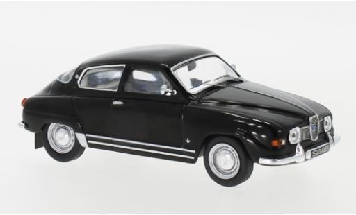 Saab 96 1/43 IXO V4 noire 19 miniature